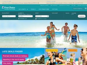 First Choice website