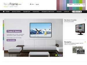 Fix & Frame website