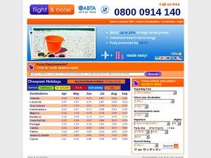 Flight and Hotel website