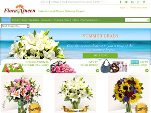Flora Queen website