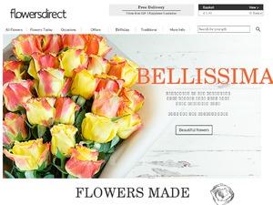 Flowers Direct website