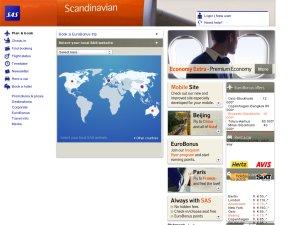 SAS UK website