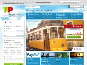 TAP Portugal website