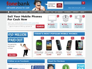 Fone Bank website