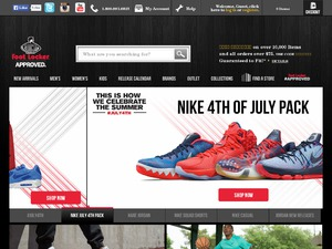 Footlocker website
