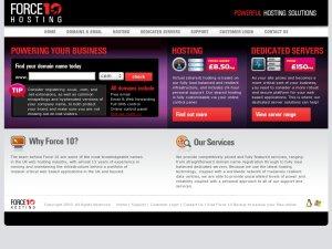 Force10hosting website