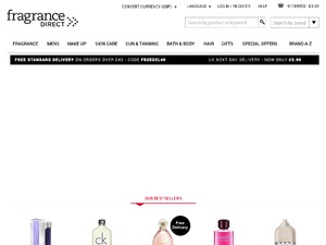 Fragrance Direct website