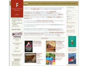 Frances Lincoln website