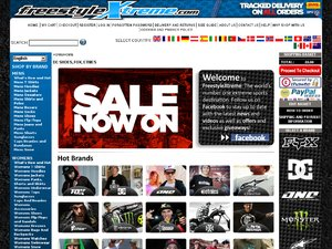 Freestyle Xtreme website