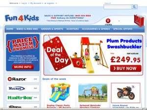 Fun4Kids website