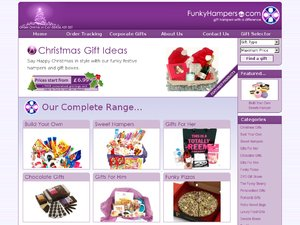Funky Hampers website