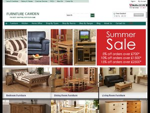 Furniture Camden website