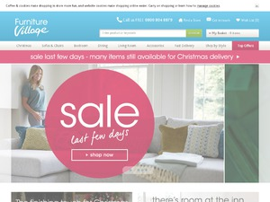 Furniture Village website