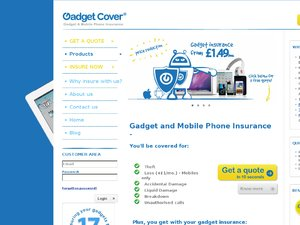 Gadget Cover website