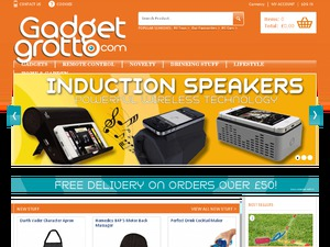 Gadget Grotto website