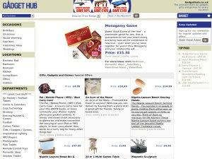 Gadget Hub website