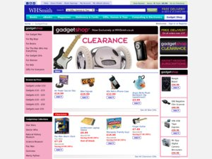 Gadget Shop website
