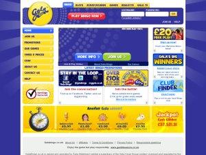 Gala Bingo website