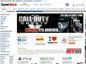 Gameseek website