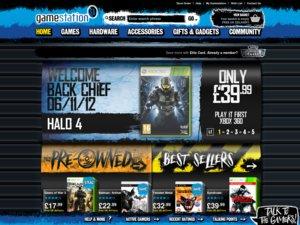 Gamestation website
