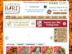 Garden Bird website