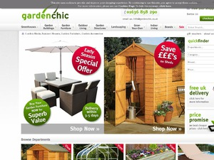 Garden Chic website