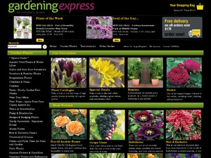 Gardening Express website