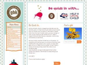 Gourmet Burger Kitchen website
