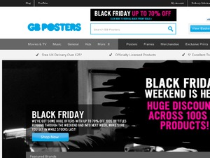 GB Posters website