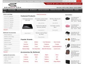 GearZap website
