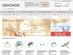 Gemondo Jewellery website