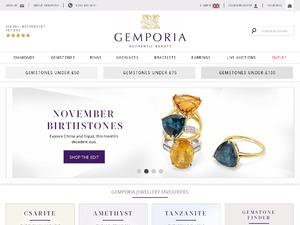 Gemporia website