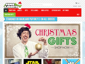 Genie Gadgets website