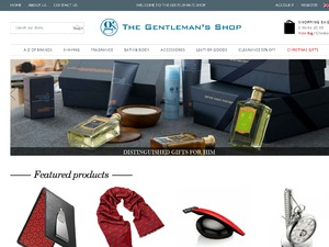 Gentlemans Shop website