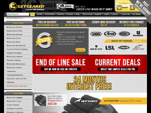 Get Geared website