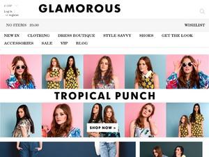 Glamorous website