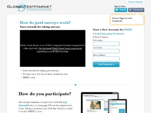 GlobalTestMarket website
