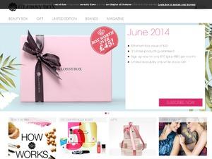 GlossyBox website