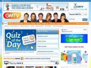 GMTV website