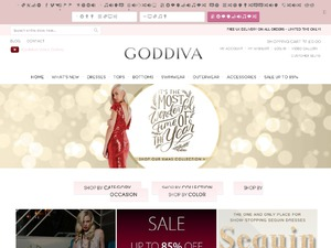 Goddiva website