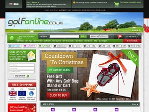 GolfOnline website