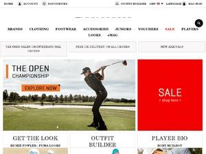 Golf Poser website