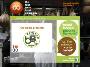 GO Italy website