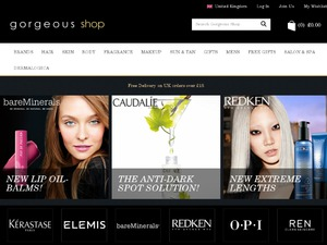 GorgeousShop website