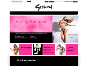 Gossard website