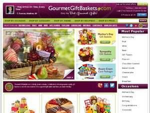 GourmetGiftBaskets.com website