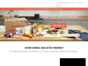 Gousto website