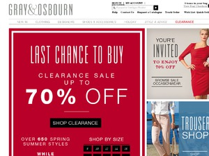 Gray and Osbourn website