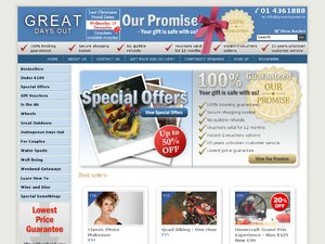 Great Days Out website