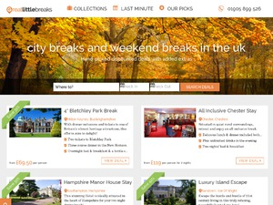 Great Little Breaks website